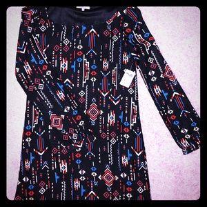 Charlotte Russe Long Sleeve Mini Dress